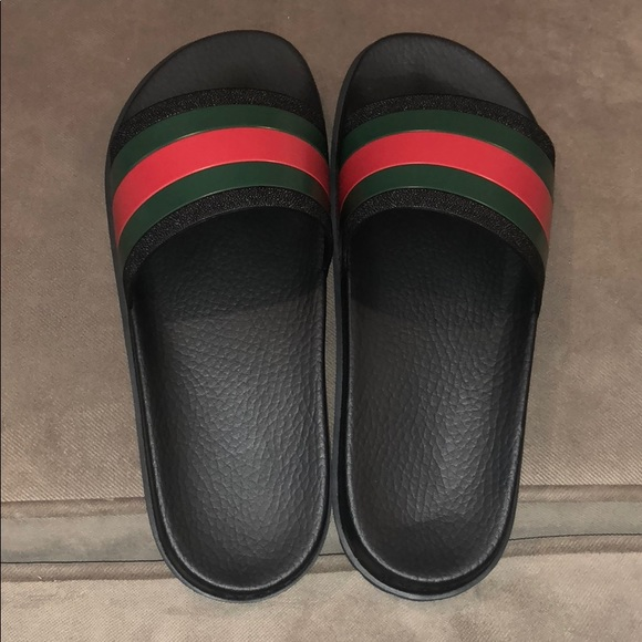 069435f48 Gucci Shoes | Authentic Web Slide Sandals | Poshmark